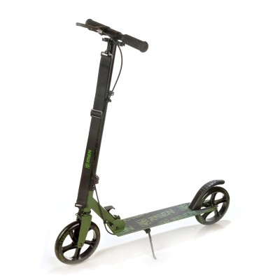 Trotinetă Straight (handbrake) Army Green 200 mm