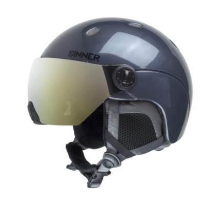 Titan Visor Metallic Dark Grey