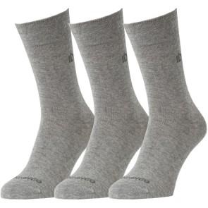 Basic 3 Pack Grey Heather