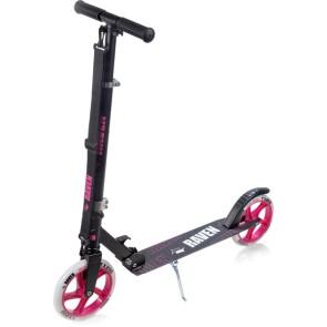Straight Black/Pink 200 mm