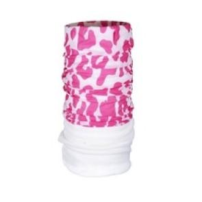 Fleece Bandana Pink Leopard