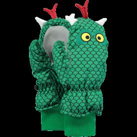 Nylon Mitts 3D Green