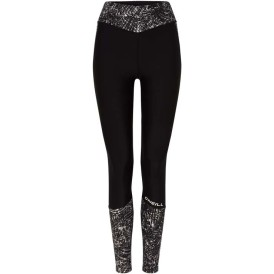 Hyperdry Printed Leggings Negru